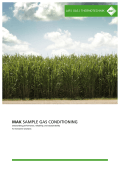 MAK SAMPLE GAS CONDITIONING - TECHNOPROCUR CZ