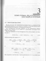 SOME FORMAL RELATIONSHIPS, AND SAMPLE SYSTEMS