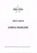 TRIG* STAR 2013-2014 SAMPLE PROBLEMS