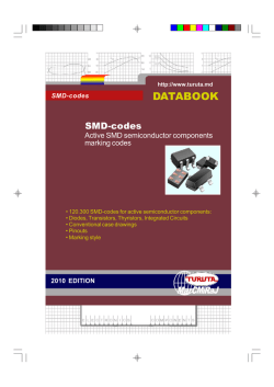 SMD-code databook, 2010 edition - sample - Turuta Electronics World