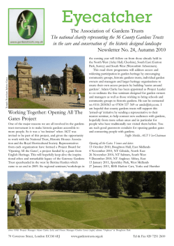 revised 29 Sept Newsletter sample.p65 - Norfolk Gardens Trust