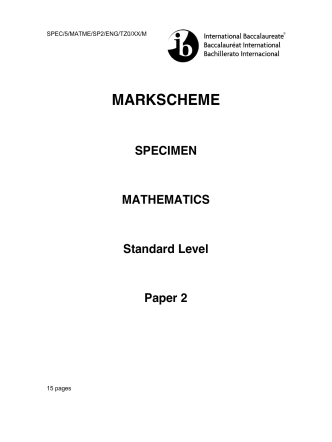 2014 Sample TESTS