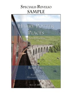 SAMPLE - Harry Potter Places
