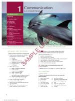SAMPLE UNITS - Pearson ELT