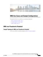 BNG Use Cases and Sample Configurations