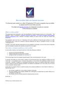 Micro-entities QA and Sample Accounts - Mercia