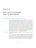 One- and Two-Sample Tests of Hypotheses - eBooks
