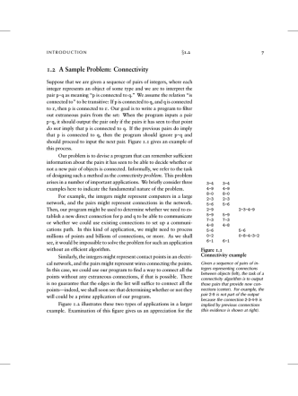 1.2 A Sample Problem: Connectivity - Department of Computer