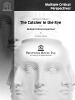 The Catcher in the Rye - Multiple Critical Perspective Sample PDF