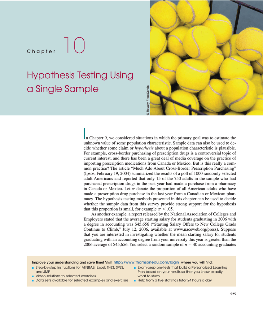 one sample hypothesis testing paper Hypothesis testing is a method of making decisions using data from scientific study  hypothesis testing  one sample hypothesis testing paper  the test statistic .