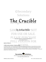 The Crucible - Secondary Solutions