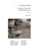 A Sample of Rural and Global Health Issues - University of New