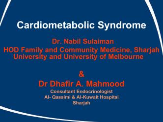 Cardiometabolic Syndrome (1)