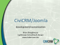CiviCon2013 Joomla Developerx