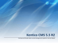 Kentico CMS for ASP.NET