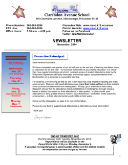 NEWSLETTER - Mukwonago Area School District