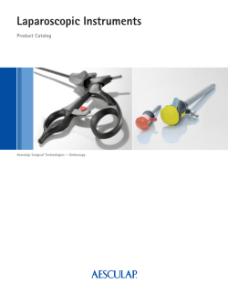 Laparoscopic Instruments Catalog (11.3 MB) - Aesculap