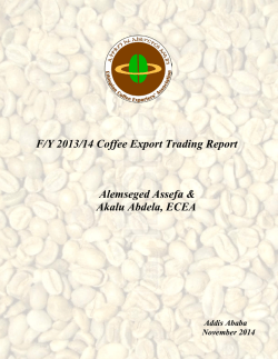 F-Y 2013-14 Coffee Export Trading Report.pdf - Ethiopian Coffee