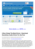# Buy Cheap The Best Driver:: Download - Constant Contact