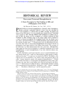 HISTORICAL REVIEW - Blood Journal