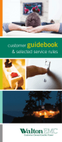 Customer Guidebook (PDF). - Walton EMC
