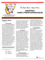 December NMPRA Newsletter - National Miniature Pylon Racing