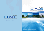 Conference Program book - icpads 2014