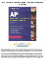 Kaplan English Literature Composition 2014 - bookfeeder.com