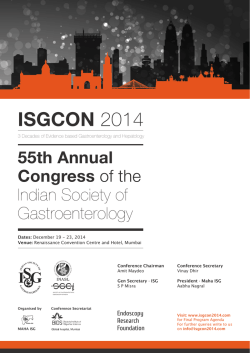 Publication (5.70 MB) - ISGCON 2014