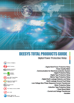 DEESYS TOTAL PRODUCTS GUIDE - WESTERNSINO.COM