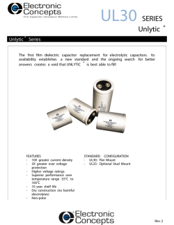 UL30 Series - Unlytic - Electronic Concepts, Inc.