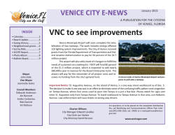 Venice City E-News 1-15 B_Layout 1 - City of Venice