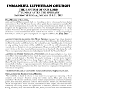 News & Information - immanuel-perryville.org