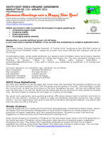 SEEOG Newsletter 2015 01 - South East Essex Organic Gardeners
