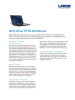 NCS Altus 9770 Notebook - NCS Technologies