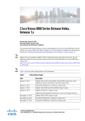 Cisco Nexus 6000 Series Release Notes, Cisco NX-OS Release 7.x