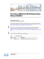 Cisco Nexus 3000 Series NX-OS Release Notes, Release 6.0(2)U5(1)
