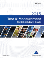 Download our NEW Equipment Solutions Brochure - Tech