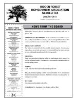 Current Newsletter - Neighborhood News