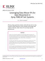 Leveraging Data-Mover IPs for Data Movement in Zynq