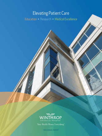 Annual Report - Winthrop University Hospital