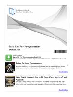 Java Se8 For Programmers Deitel Pdf ~ jleBooks.com