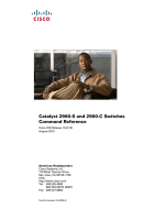 Catalyst 2960-S and 2960-C Switches Command Reference, Cisco