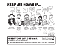 Keep Me Home If… (Guidelines for when your child is sick) [PDF]