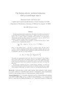 The Dantzig selector - Department of Statistics