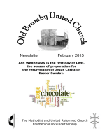 Monthly Newsletter - Old Brumby United Church