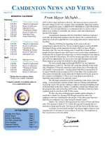 newsletter - City of Camdenton