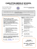 Newsletter - Warren Consolidated Schools