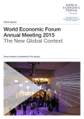 World Economic Forum Annual Meeting 2015 The New Global Context