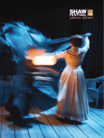 Current Annual Report - Shaw Festival Theatre